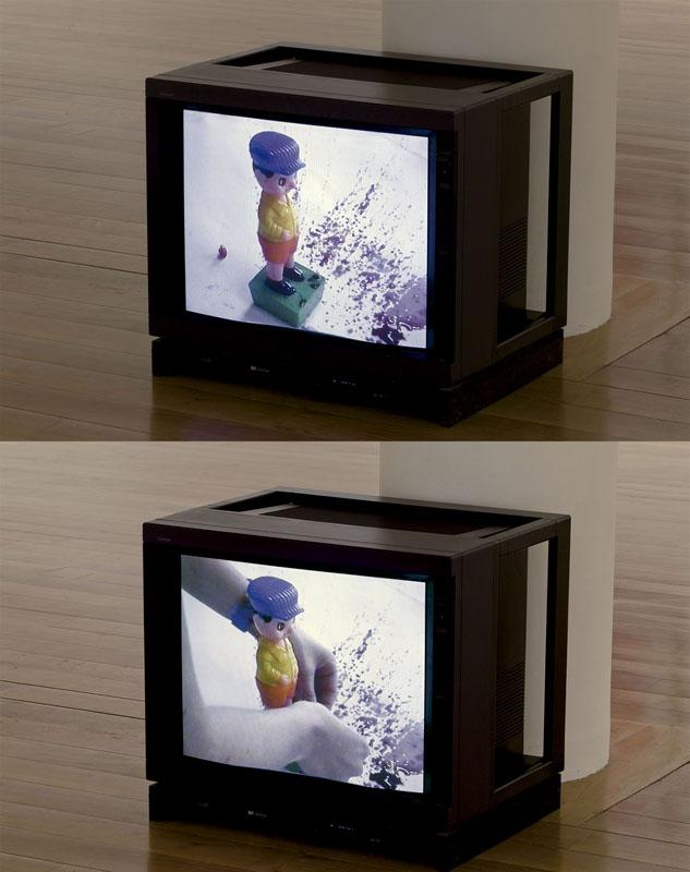 Chocolate-molinillo.2001. Video 11m. Fotografía Mark Ritchie
