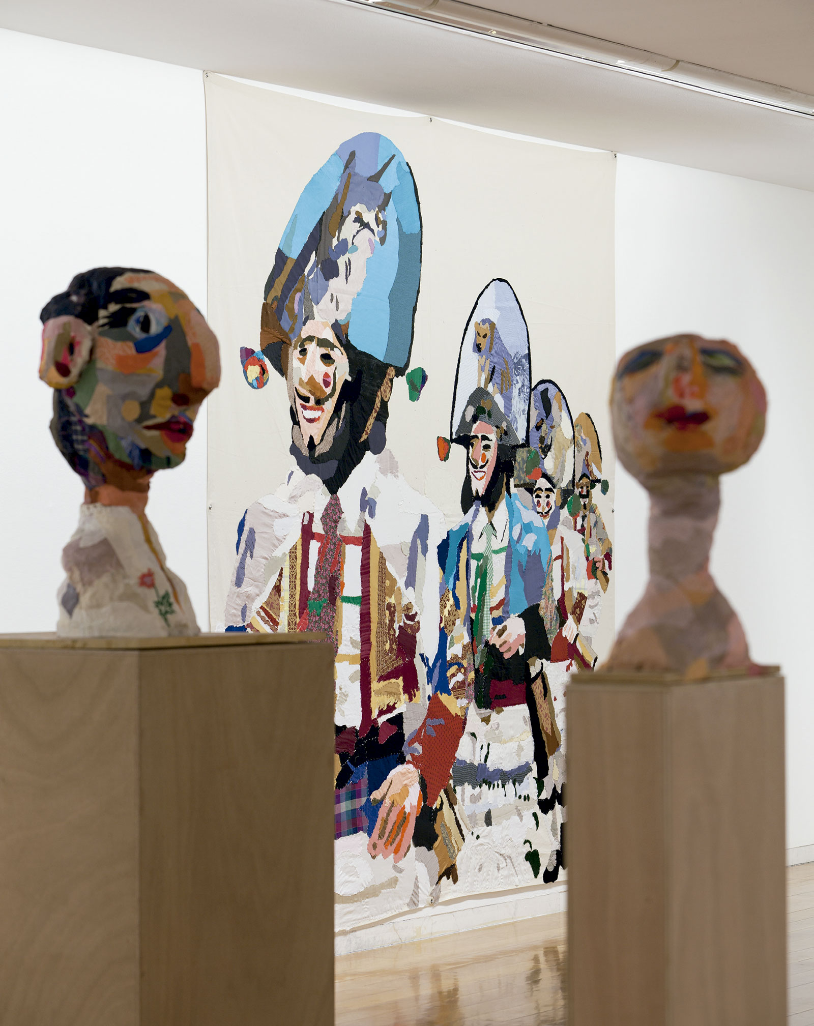 Vista da exposición Chelo Matesanz. As-miñas cousas en observación, CGAC, Santiago de Compostela, 2014. <small>Fotografía Mark Ritchie</small>