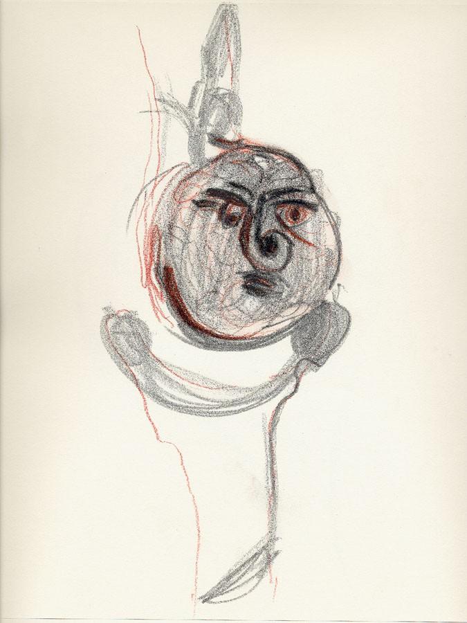 Sín título, 2009. Dibujo. 31 x 24 cm