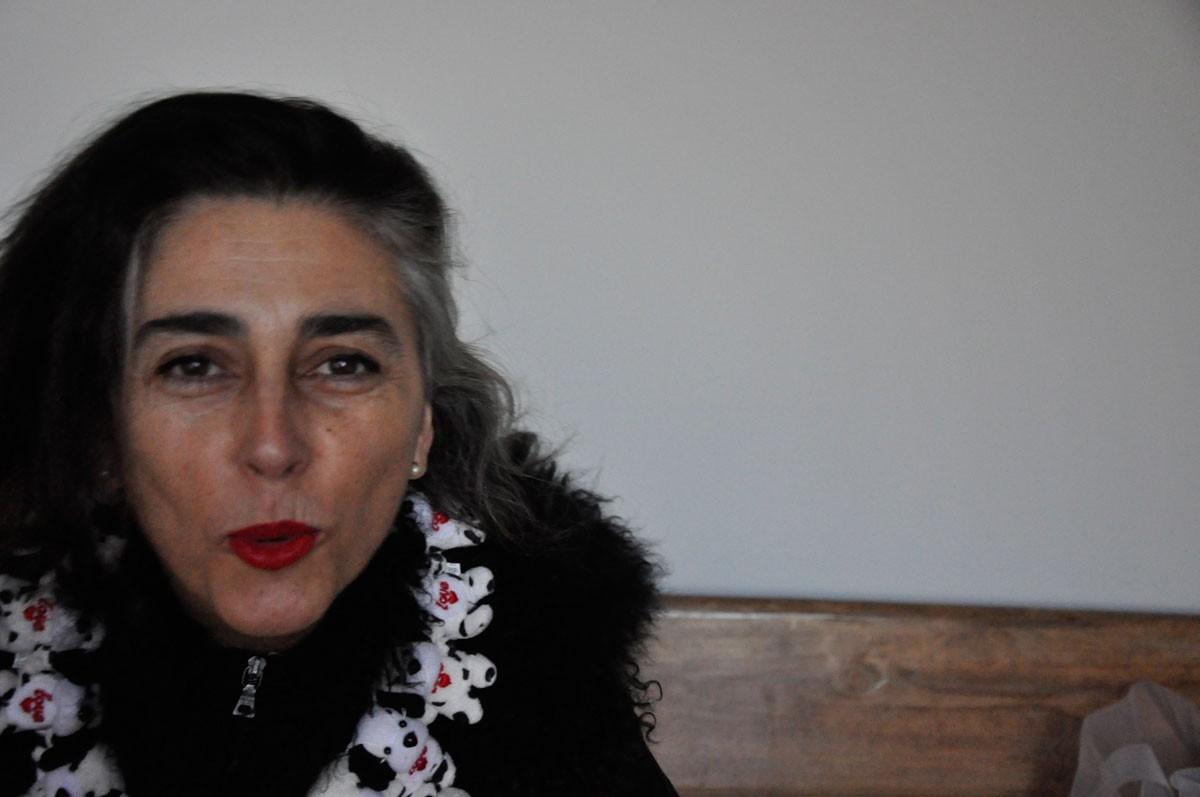 Con collar de Concha García