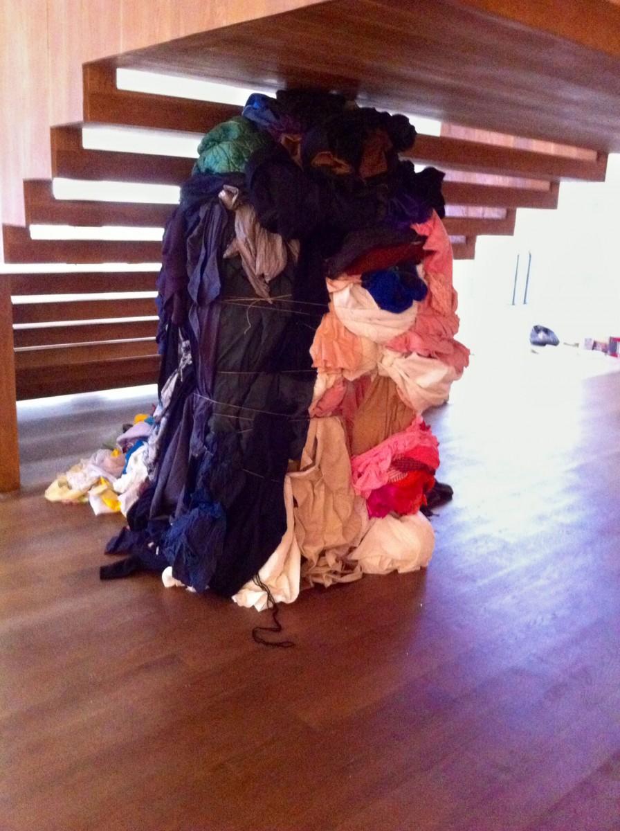 Montaje en Fundación Seoane. A Coruña 2014