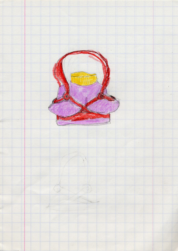 Dibujo con correa