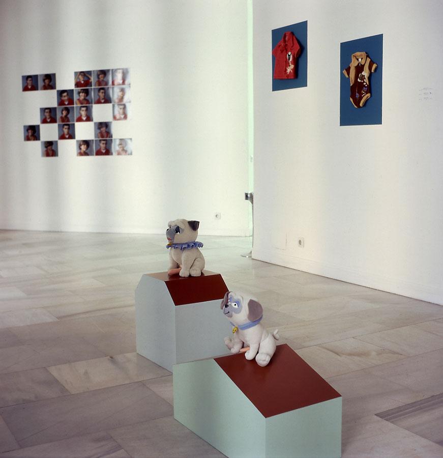 Montaje de Centro, Norte, Sur, 1996. Galería Juana de Aizpuru, Madrid.