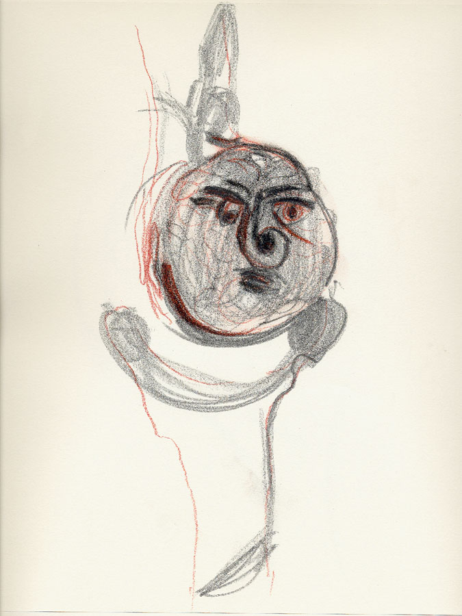 Sín título 003, 2009. Dibujo. 31 x 24 cm