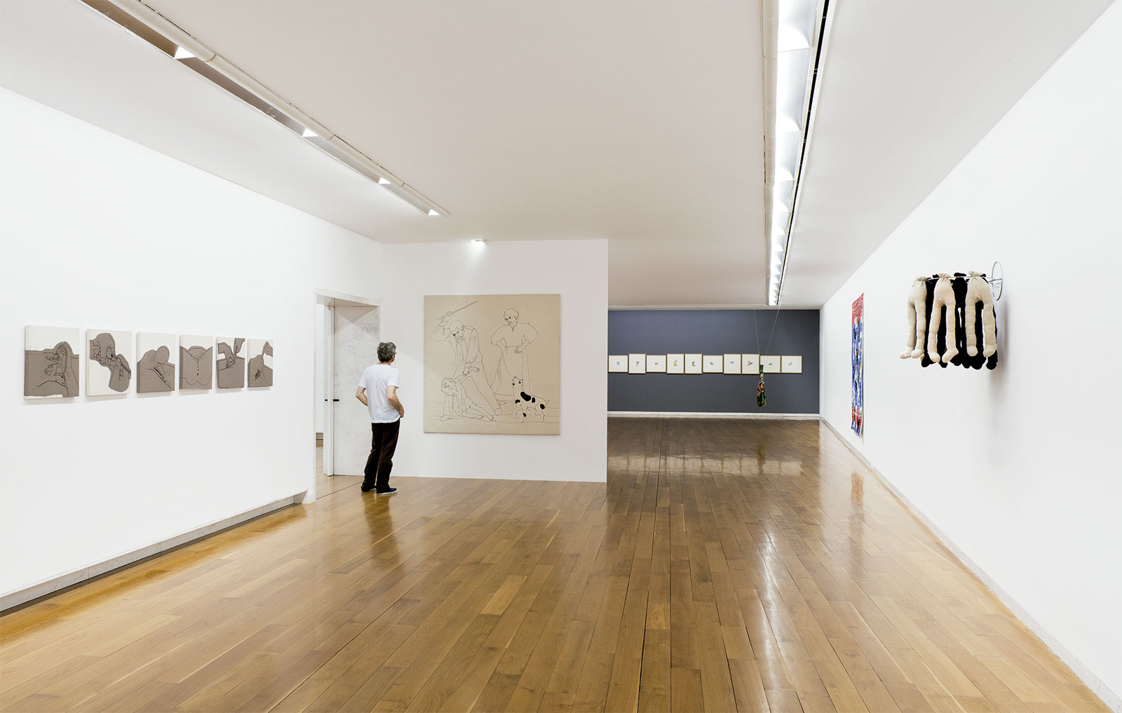 Vista da exposición Chelo Matesanz. As miñas cousas en observación, CGAC, Santiago de Compostela,2014. <small>Fotografía Mark Ritchie</small>
