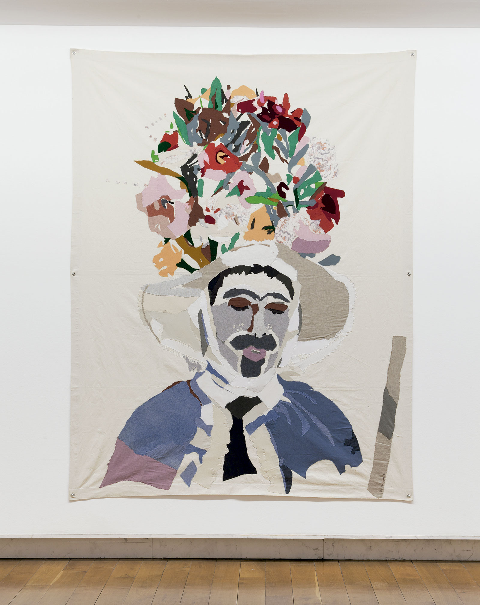 Zamarrón, 2006. Tela cosida (260 x186 cm) Fotografía Mark Ritchie