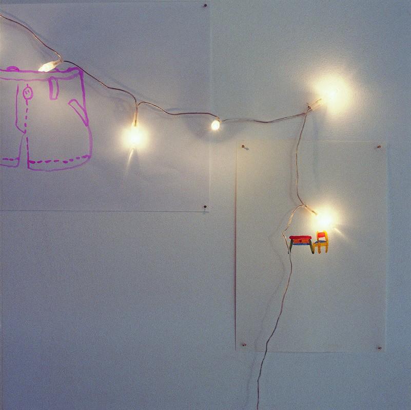 Dibujos sobre papel, fragmento, 2003