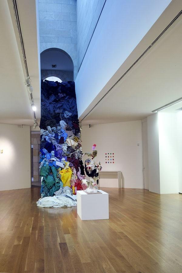 """Intervención en el espacio para la exposición """"O Bosquexo do Mundo"""" en el MARCO. Vigo, 2013"""