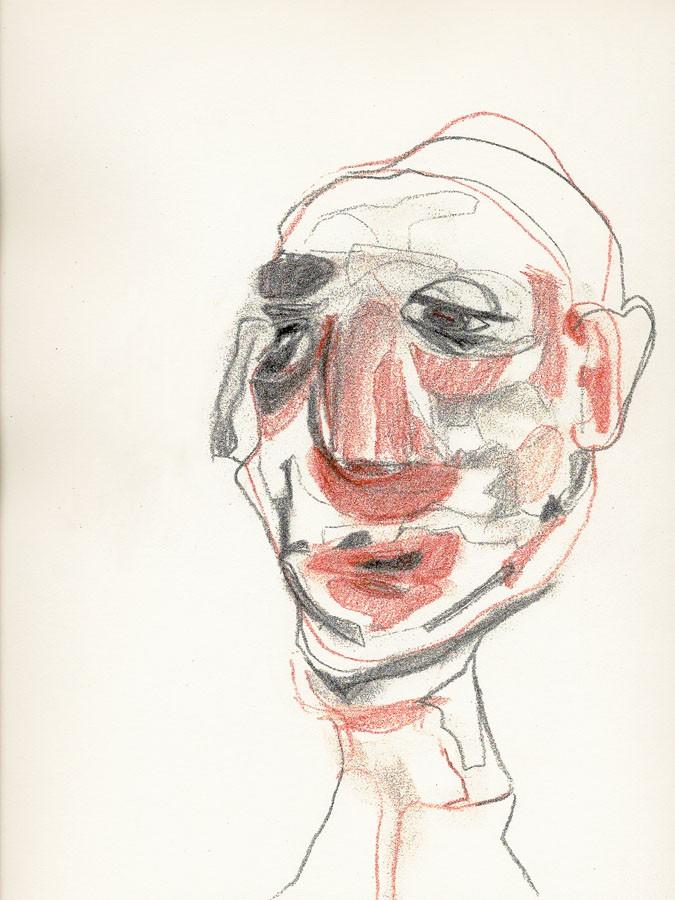 Sin título, 2009. Dibujo. 31 x 24 cm