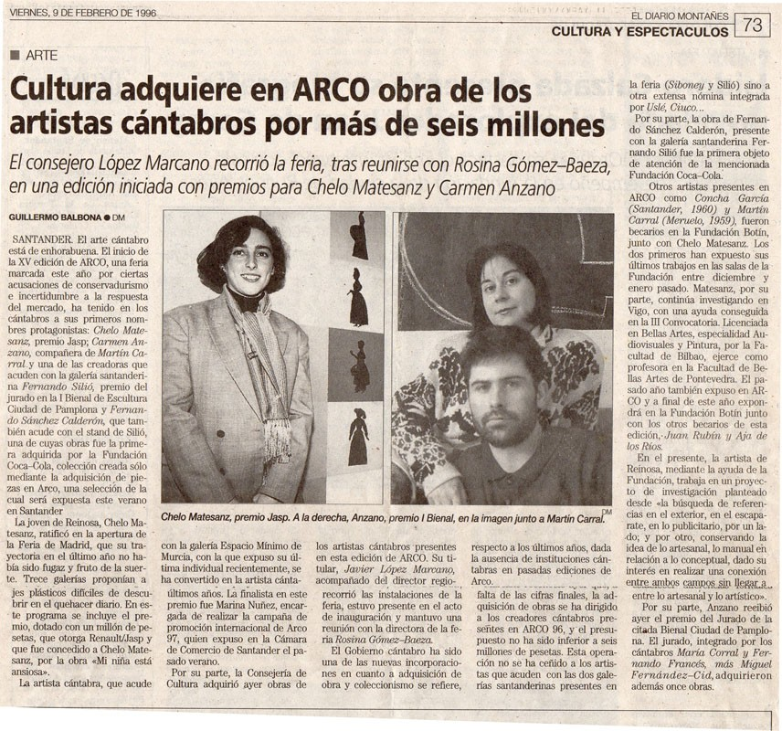 Adquisiciones en ARCO, 96