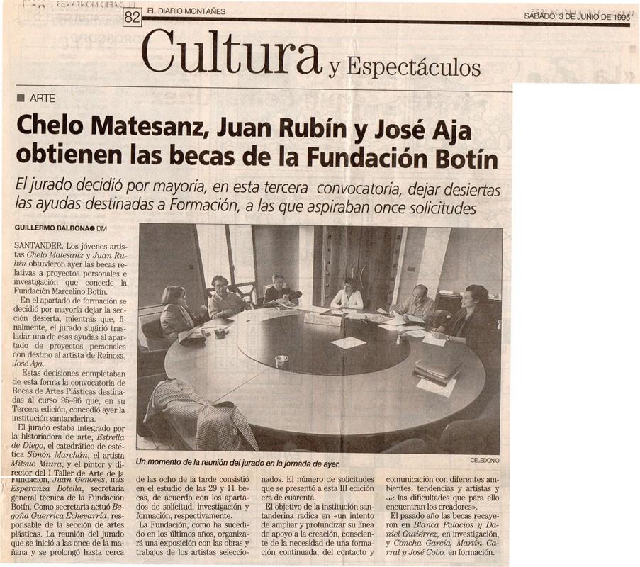 Becas Botín, 1995