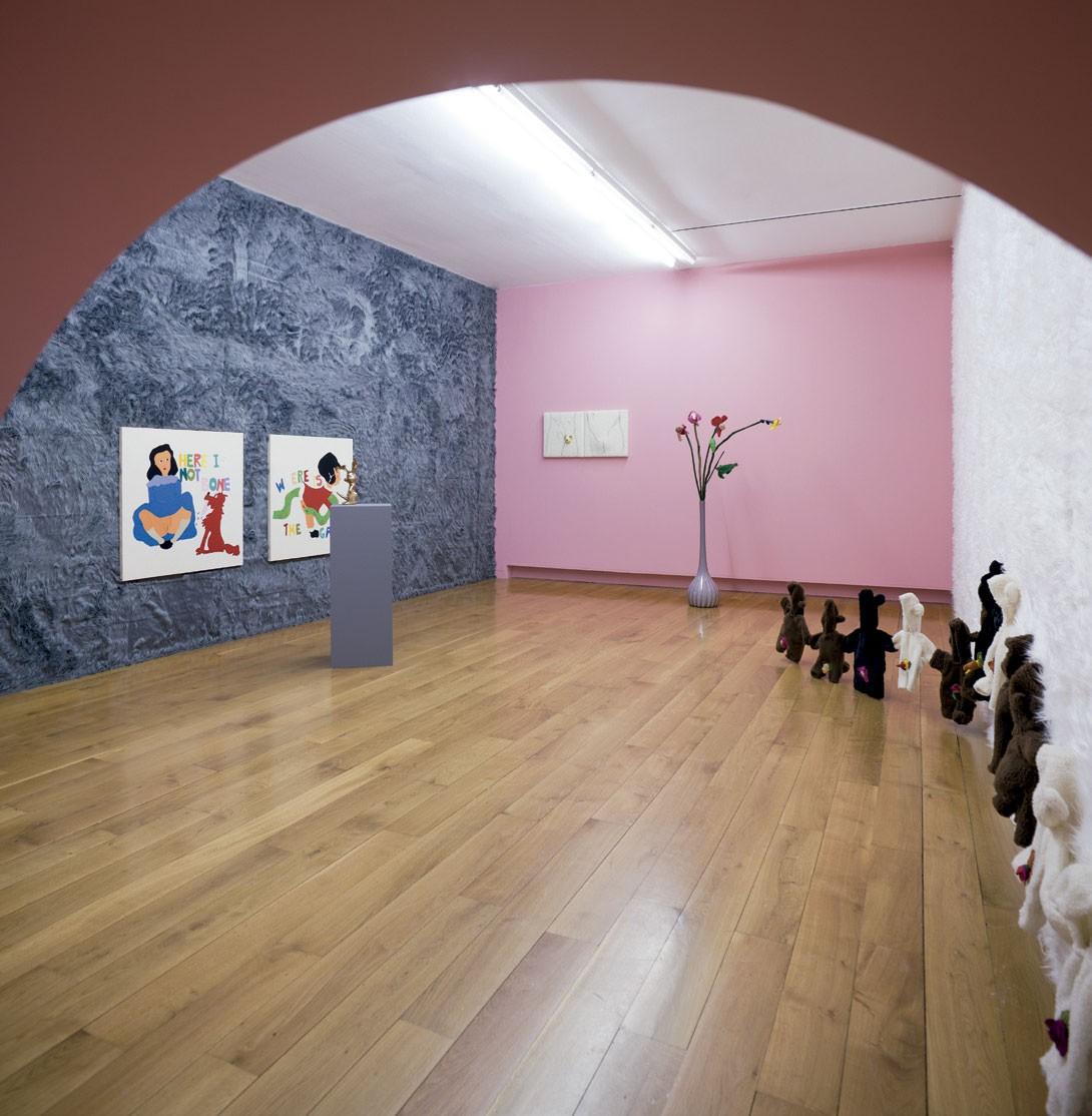 Vista da exposición As miñas cousas en observación, CGAC, Santiago de Compostela, 2014
