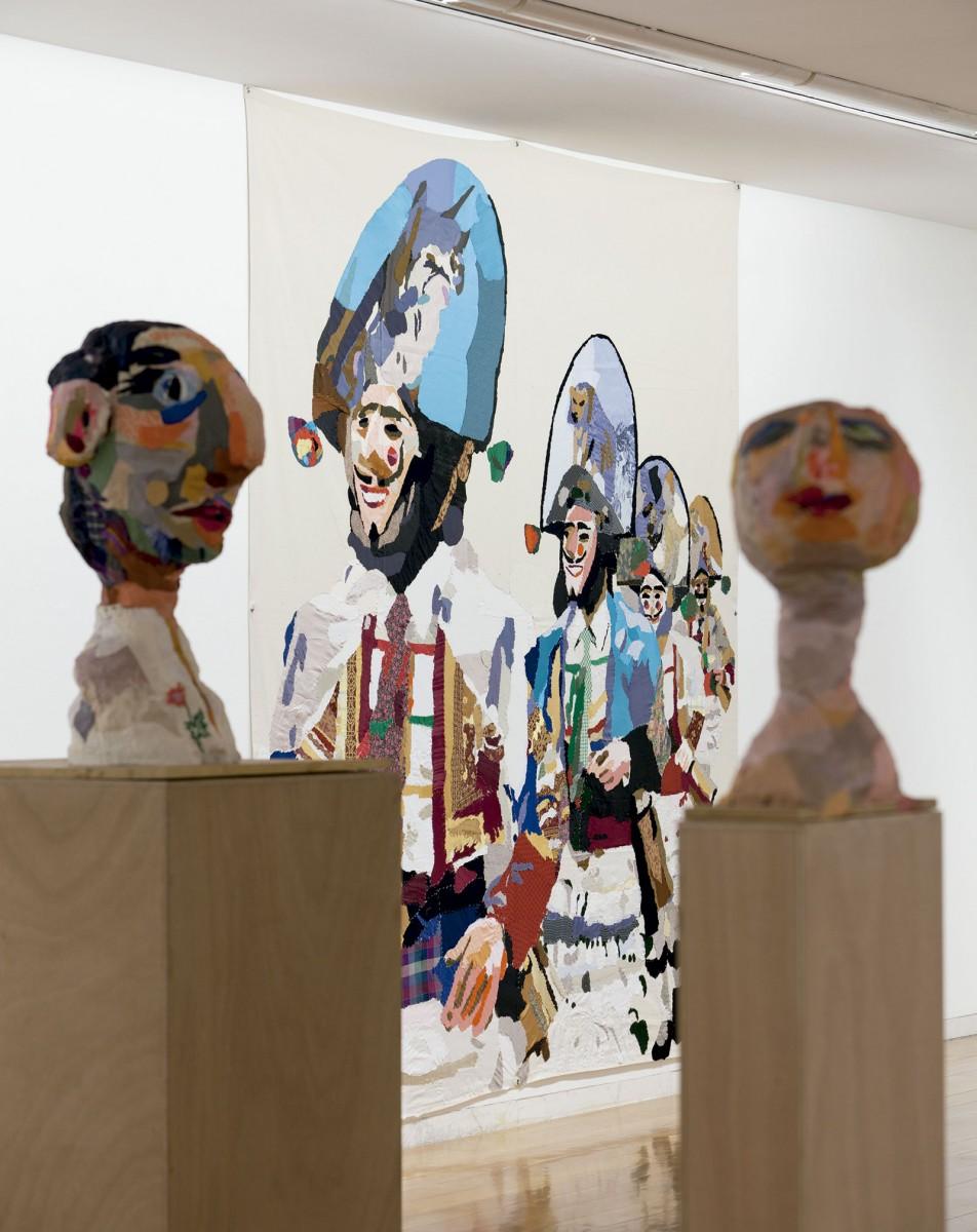 Vista da exposición Chelo Matesanz. As-miñas cousas en observación, CGAC, Santiago de Compostela, 2014. Fotografía Mark Ritchie