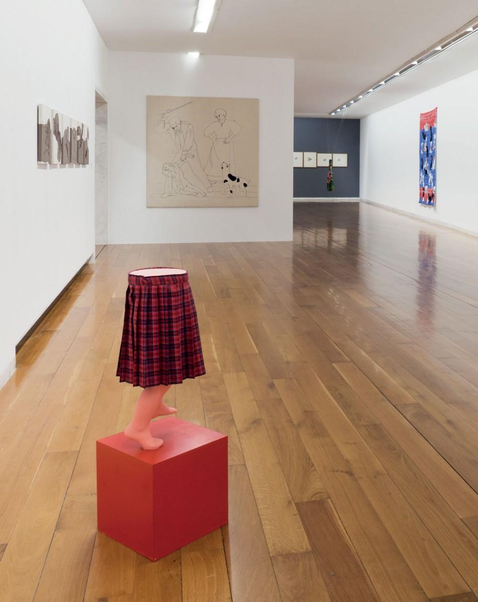 Vista da exposición Chelo Matesanz. As miñas cousas en observación, CGAC, Santiago de Compostela, 2014. Fotografía Mark Ritchie