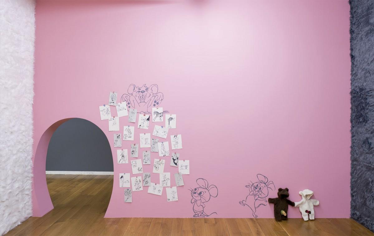 Vista da exposición Chelo Matesanz.As miñas cousas en observación, CGAC, Santiago de Compostela, 2014. Fotografía mark Ritchie